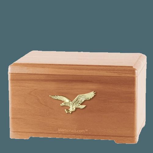 Freedom Light Cherry Cremation Urn