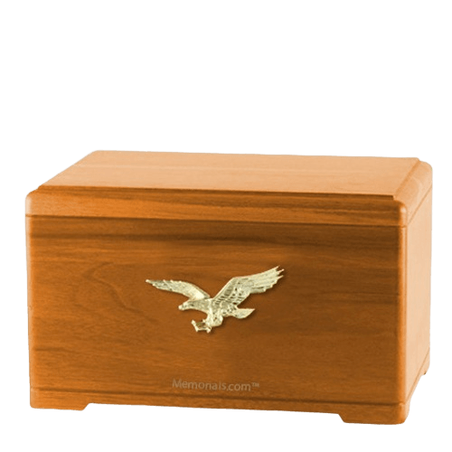 Freedom Oak Cremation Urn