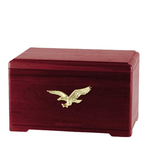 Freedom Rosewood Cremation Urn