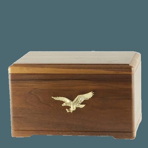 Freedom Walnut Cremation Urn