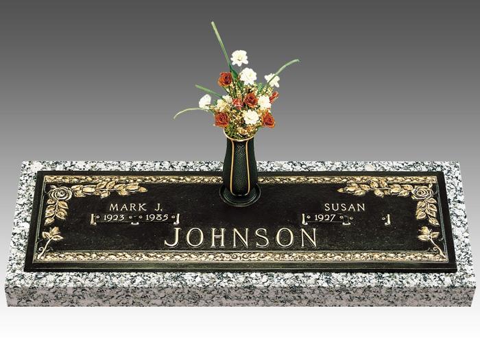 Companion Bronze Grave Markers