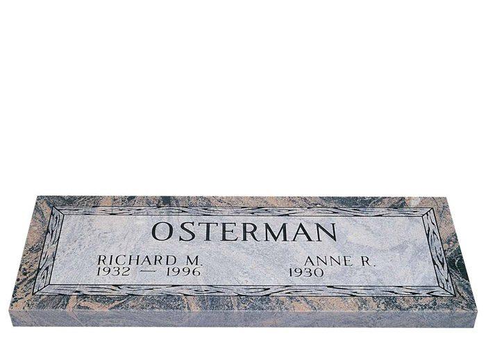 Companion Granite Grave Markers