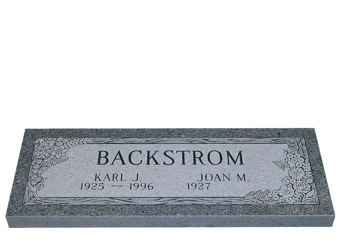 Granite Headstones Grave : Companion granite grave markers