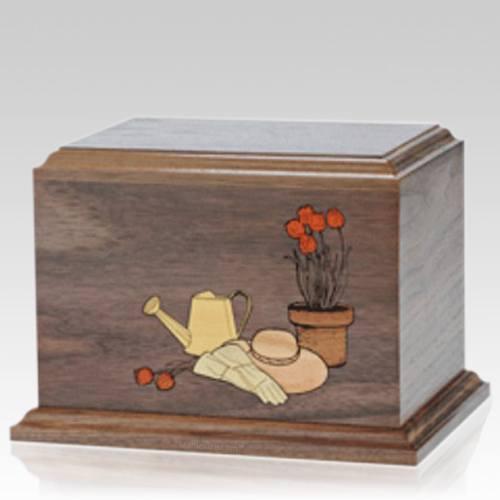 Gardener Wood Cremation Urn