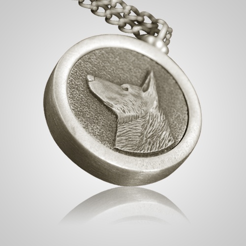 German Shepherd Pet Memory Keychain