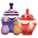 Glass Pet Urns