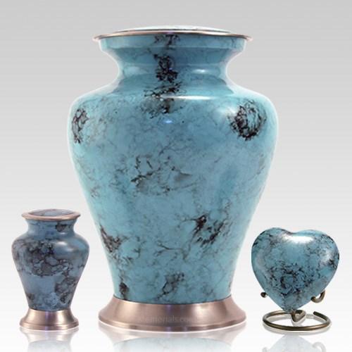 Glenwood Blue Cremation Urns