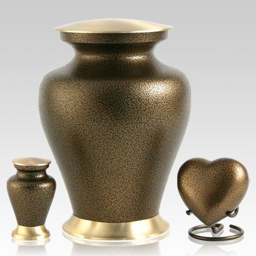 Glenwood Bronze Cremation Urns