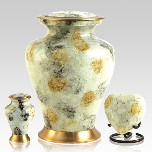 Glenwood White Cremation Urns