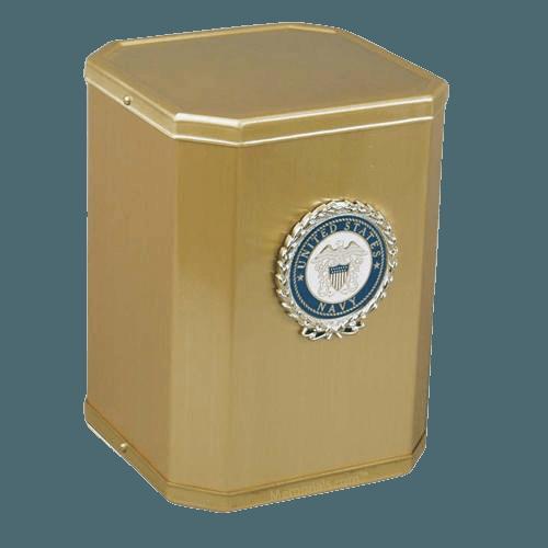 Glory Navy Cremation Urn