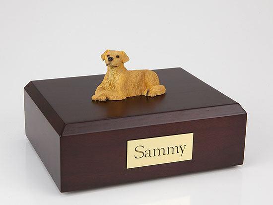 Golden Retriever Resting Small Dog Urn