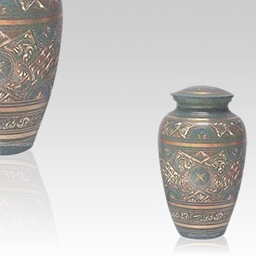 Golden Waters Keepsake Cremation Urn