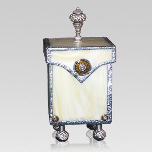 Graceful Glass Child Cremation Urn