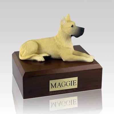 Great Dane Fawn Dog Urns