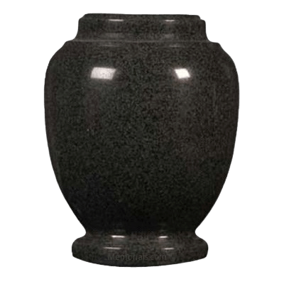 Green Traditional Granite Cremation Urn