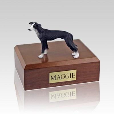 Greyhound Black Dog Urns
