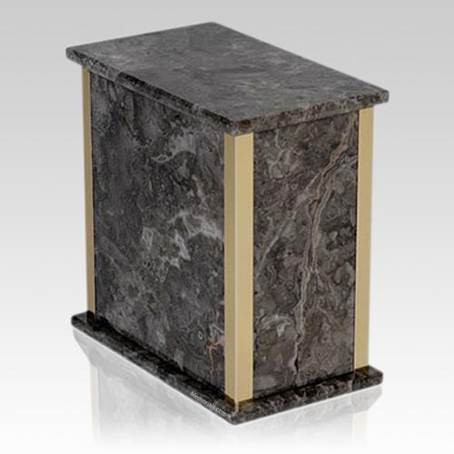 Grigio Belliemi Marble Cremation Urn