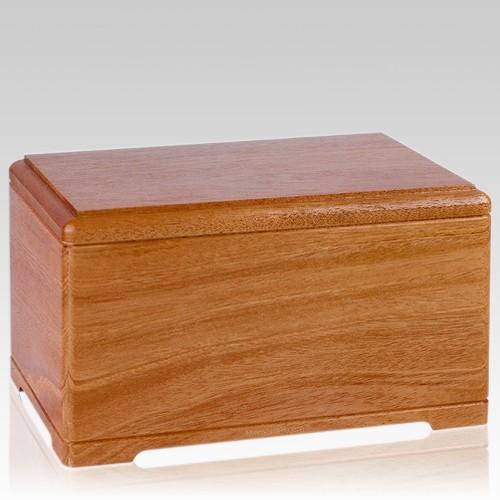 Hanover Wood Cremation Urn