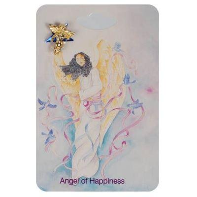 Happiness Angel Lapel Pins