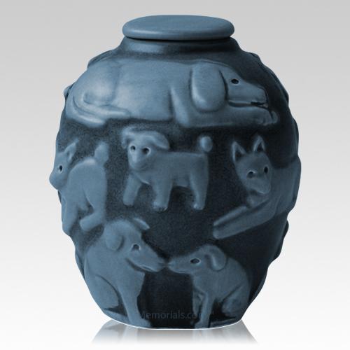 Happy Dog Cremation Urns