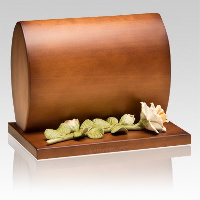 Harmonious Wood Cremation Urn