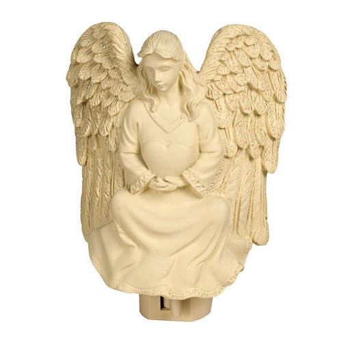 Heartfelt Nightlight Home & Garden Angel