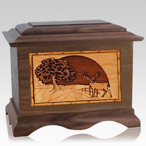 Heartland Deer Wood Cremation Urns