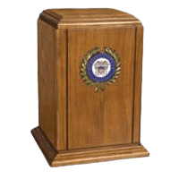Hero Navy Cremation Urn