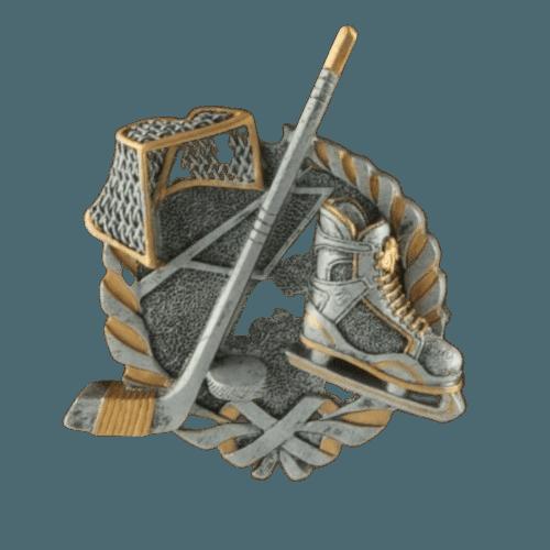 Hockey Fan Rosewood Cremation Urn