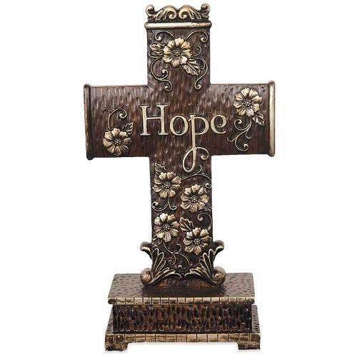 Hope & Faith Cross Keepsake