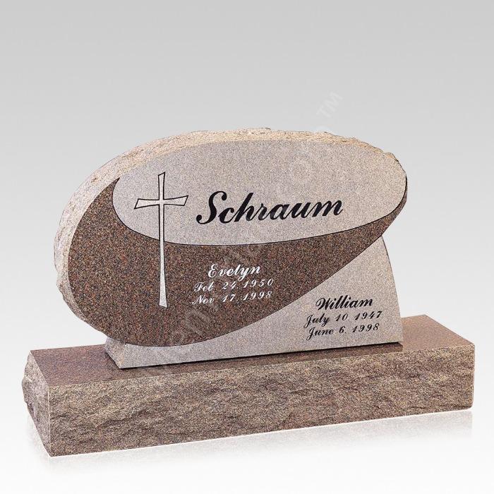 Hope Companion Granite Headstone