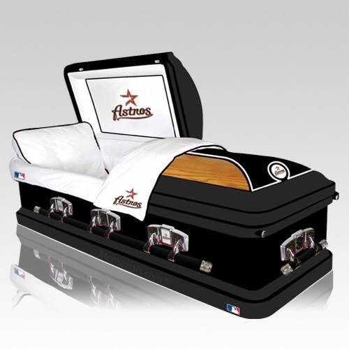 Houston Astros Casket