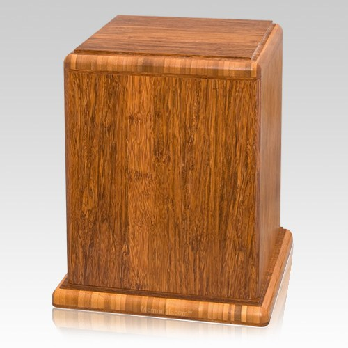 Imperial Bamboo Cremation Urn