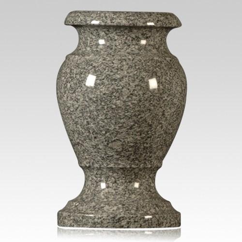 Imperial Gray Granite Vase