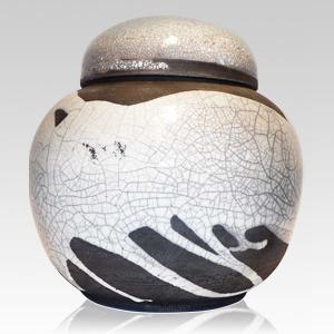 Irish Crackle Ceramic Urn