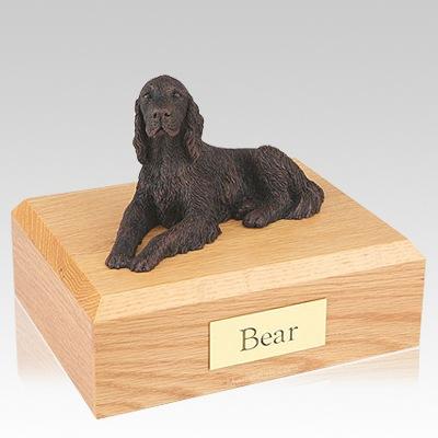 Irish Setter Bronze Dog Urns