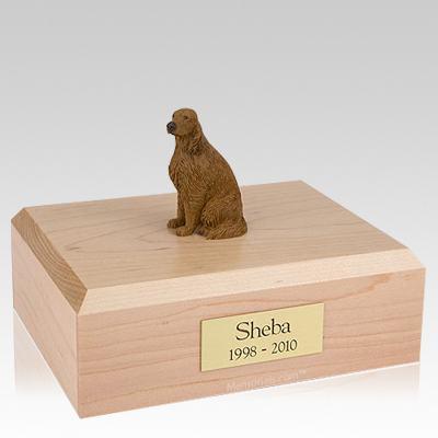 Irish Setter Sitting Dog Urns
