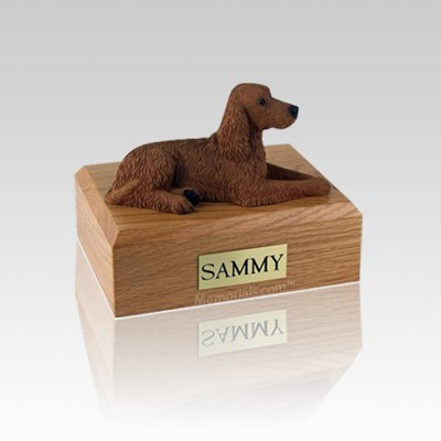 Irish Setter Small Dog Urn