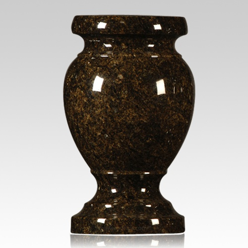 Jade Green Granite Vase