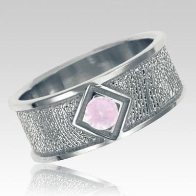 June Birthstone Sterling Silver Ring Print Keepsakes