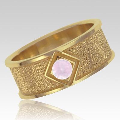 June Birthstone 14k Yellow Gold Ring Print Keepsake