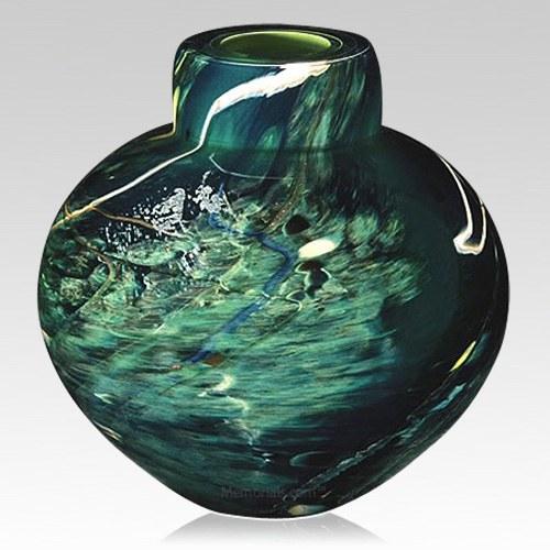 Jupiter Glass Cremation Urn