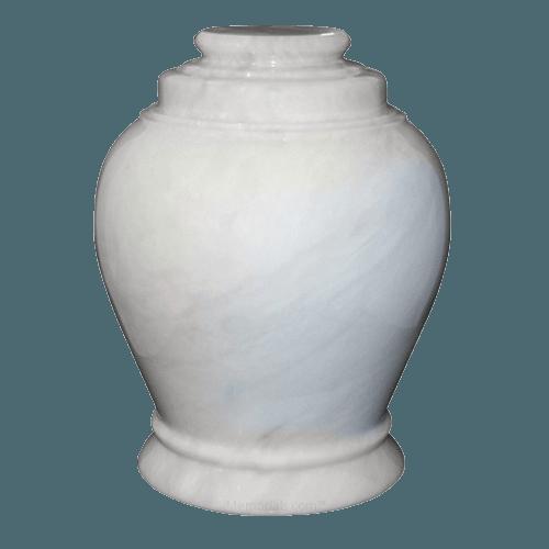 Antique White Marble Urn