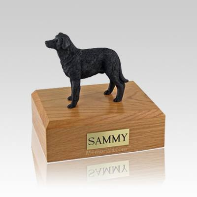 Labrador Black Standing Small Dog Urn