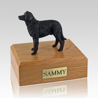 Labrador Black Standing Dog Urns