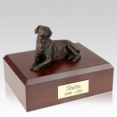 Labrador Bronze Dog Urns