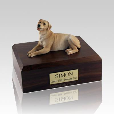 Labrador Golden Laying X Large Dog Urn