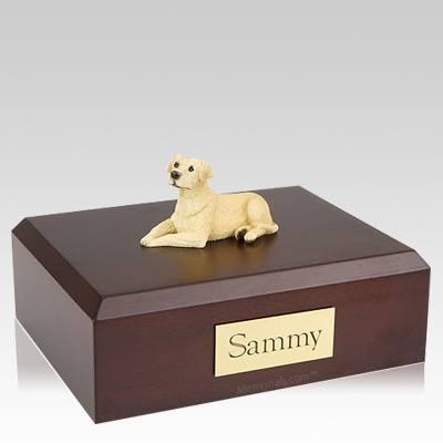 Labrador Yellow Resting Dog Urns