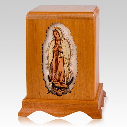 Lady of Guadalupe Cremation Urn IV