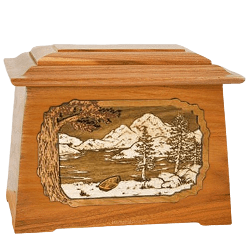 Lakeside Mahogany Aristocrat Cremation Urn